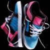 Supra Skytop Low (Pink/Blue)