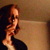 Amal Nahurriyeh: scully smokes