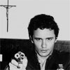 James Franco b&w