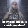 morethansirius: Ticky_box abuse - Lucius