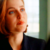 Agent Dana Scully: lost in thought