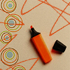 Liz: Orange marker & doodles