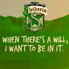 slytherin will