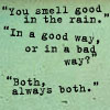 Smell in Rain