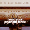 I Read Your Fanfic -- The Shining