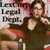 pure FORESHADOWING: LexCorp Legal Dept.