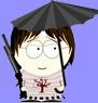 ЮП с зонтиком