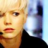 Primeval - Abby looks tense