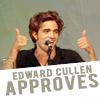 edward approves