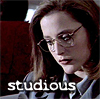 studious scully, school, xfstudious