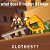 KH - What Does It Matter If I Wear CLOTH