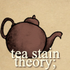 tea stainers;