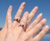 Rings against Crater Lake