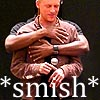 I tongued Hugh Dillon once.: smish