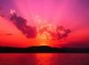 sky, sun set, sun