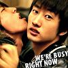 We're busy right now. EunHae