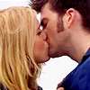 Dr Who kissing Rose