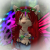 Fae kitty of Roses and Columbine, on Secondlife: Butterfly necklace
