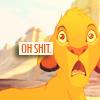 Disney: Simba - Oh shit!