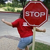 Amazing stop sign!
