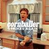 Sarah: cornballer!