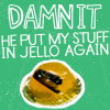 stapler, jello, the office, dwight