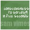 [disc] vimes :: sarcasm