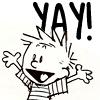 """Calvin """"Yay!"""""""