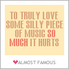 truly love music