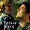 brigid_tanner: John & weeDean-father's love