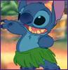 Stitch - hula!