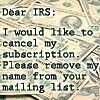 irs subscription