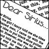Dear Sirius