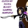 Clutch my testes!!