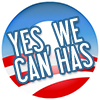 Cynthia: obama we can has
