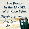 gowdie: Rose and Doctor in the Tardis