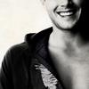 tonicangel: Jensen // B&W Laughter