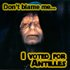Stealth Mexi Geek-Nerd: I voted Antilles in Ep 1