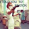 The Joker: Nurse Joker with Gun by xlolitsnozomix
