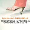 angelfireeast: Doctor Who Romana impractical shoes