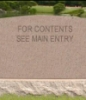 sedauny: tombstone