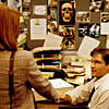 Mulder/Scully pilot handshake