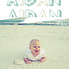 April: Aidan-beach