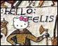 ladycaviar's hello felis