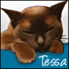 tessa sleeping
