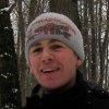 лыжи, зима, снег