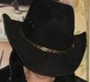 В шляпе