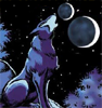 Janne: Elfquest howling at two moons