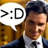 Gogo: Batman/Bruce/Bale-Snarky smile