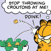 sinfulslasher: garfield croutons